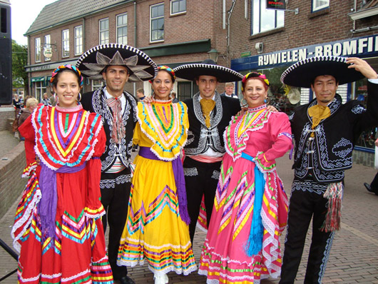 Themafeest mexicaanse feest
